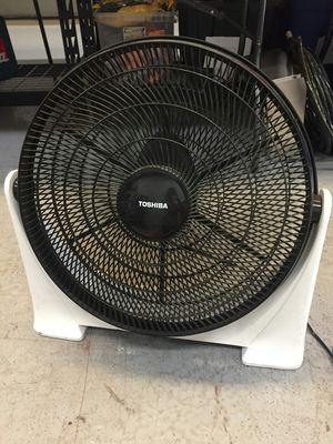 Toshiba 20 in air circulator wall mount floor fan for Sale in Gilbert, AZ