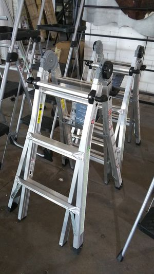 Adjustable height ladder for Sale in Dallas, TX