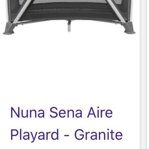 Nuna Sena Air Playard Granite for Sale in Los Angeles, CA