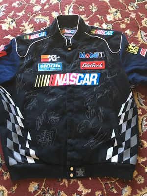 NASCAR Signed Jacket rare item for Sale in San Carlos, CA