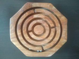 Free wood puzzle game - good for a coffee table for Sale in Chicago, IL
