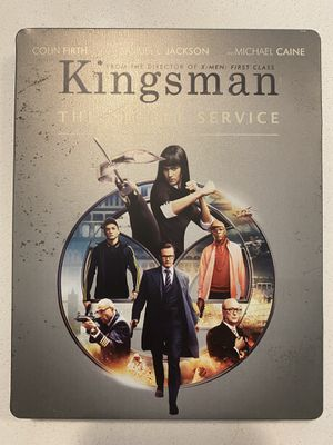 Kingsman Bluray Steelbook -please read for Sale in Aurora, CO