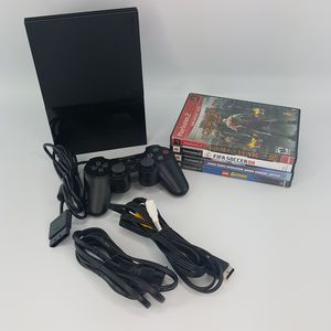 Playstation 2 with 4 games for Sale in Hollywood, FL
