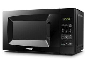 COMFEE' EM720CPL-PMB Countertop Microwave Oven with Sound On/Off, ECO Mode and Easy One-Touch Buttons, 0.7cu.ft, 700W, Black for Sale in New York, NY