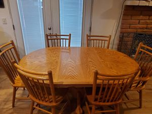 Dining table and chairs for Sale in Tucson, AZ