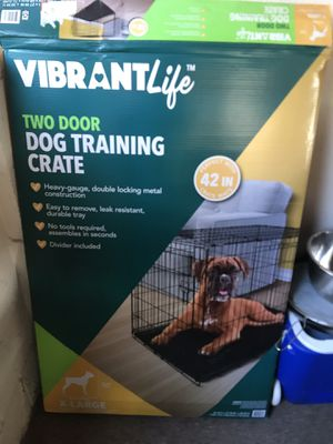 Large dog crate for Sale in Vista, CA