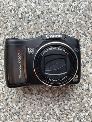 Canon PowerShot SX100 IS digital camera (black) for Sale in Chattanooga, TN