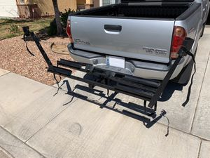 """Raxter Folding 2 Bicycle Rack / 2"""" Receiver Hitch Mount $200.00 for Sale in Las Vegas, NV"""