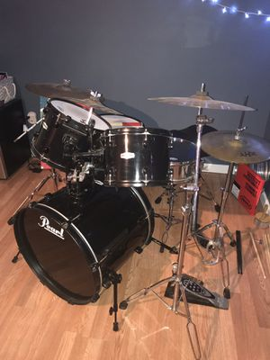 Pearl Forum Drum Kit with goodies! for Sale in Pittsburgh, PA