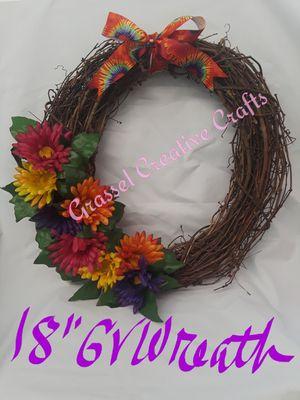 "Handmade 18"" Grape Vine Wreath for Sale in Lakeland, FL"
