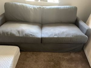 Ashley Sleeper Sofa- denim blue grey- good for Sale in San Juan Capistrano, CA