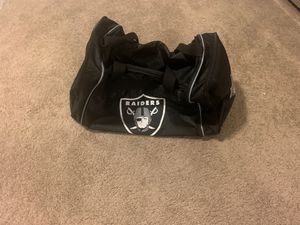 Raiders Duffle Bag $15 (Ahwatukee for Sale in Phoenix, AZ