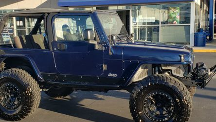 2004 Jeep Wrangler Unlimited LJ 4.0 Liter for Sale in Downey,  CA