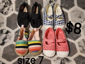 Toddler shoes size 7 for Sale in Fresno, CA