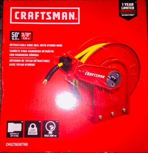 Craftsman retractable hose with hybrid hose for Sale in Auburn, WA