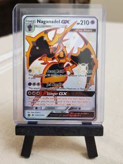 Naganadel GX Pokemon Hidden Fates Shiny Vault for Sale in Everett,  WA