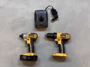 Dewalt 18V Drill and Impact for Sale in Joliet, IL