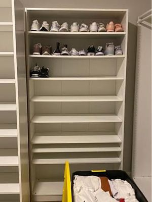 IKEA Pax Wardrobe w/ 8 shelves included! for Sale in St. Louis, MO