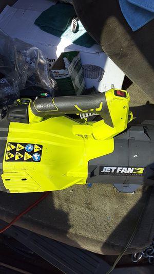 Jet fan leaf blower full crank for Sale in Fontana, CA