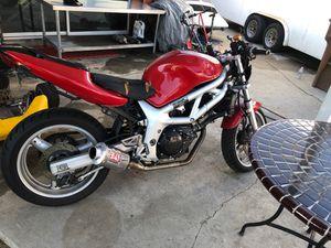 2001 Suzuki motorcycle for Sale in Garden Grove, CA