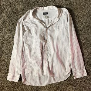 Patagonia Organic Cotton Men's Snap Button Shirt Size Large for Sale in Anchorage, AK