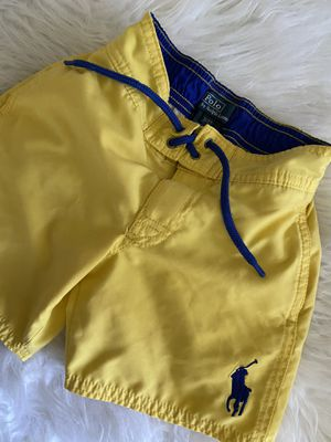Size 3T Polo Swim-trunks, pockets on both sides, one also in back , barely worn, s/f p/f home, poos. No holds, pick up in Arnold for Sale in Arnold, MO