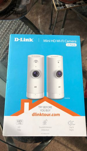 2 pack D-Link security video system Never used! for Sale in Taylor, MI