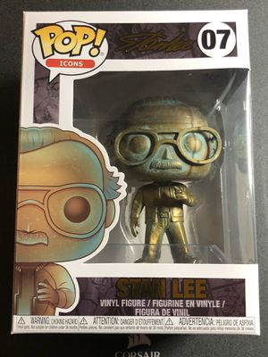 Funko Pop! Stan Lee #07 Patina Avengers for Sale in Industry, CA