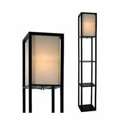 Wooden Floor Lamp 3 Tier Shelf New for Sale in Pulaski, TN