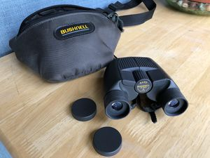 Bushnell 8x23 Binoculars 365 ft @1000 yds with soft case for Sale in Pleasanton, CA