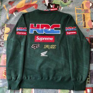 Supreme Honda Fox Racing Crewneck Green Medium (Brand New, 100% Authentic) for Sale in Anaheim, CA
