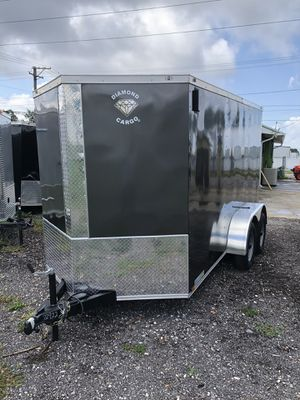 Enclosed trailer 6x12TA Diamond @ Brothers trailers for Sale in Tampa, FL