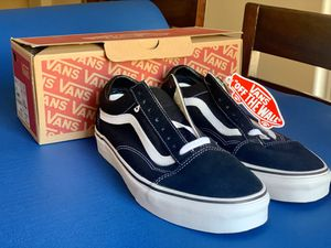 Unisex Vans SZ - men's size - 9 - women size - 10.5 for Sale in Phoenix, AZ