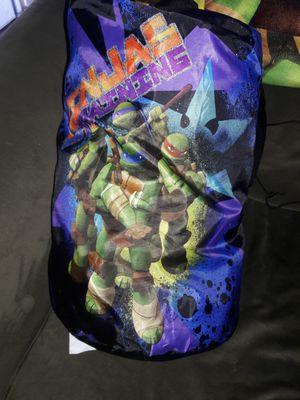 Teenage mutant ninja turtles sleeping bag and pillow for Sale in Hayward, CA