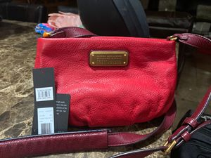 Marc Jacobs, red ,cross body bag for Sale in Mesa, AZ
