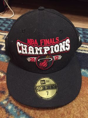 NBA Finals champions 2012 Miami heat hat for Sale in Coral Springs, FL