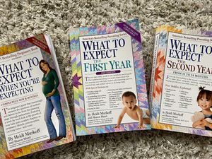 What To Expect Pregnancy & Parenting Books- set of 3 for Sale in Lexington, KY