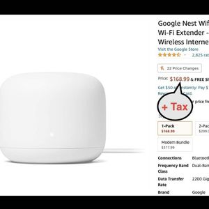 Google Nest Wifi - Home Wi-Fi System - Wi-Fi Extender - Mesh Router for Wireless Internet for Sale in Las Vegas, NV