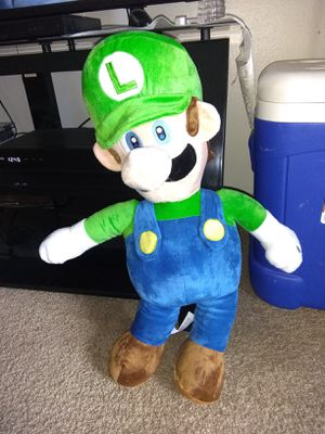 "24"" Luigi plush toy for Sale in Colorado Springs, CO"