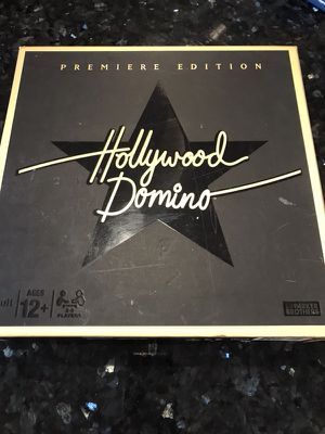 Hollywood Domino board game, New for Sale in Fairfax, VA