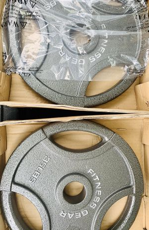 NEW SET OF 35 lb OLYMPIC PLATES for Sale in Davie, FL