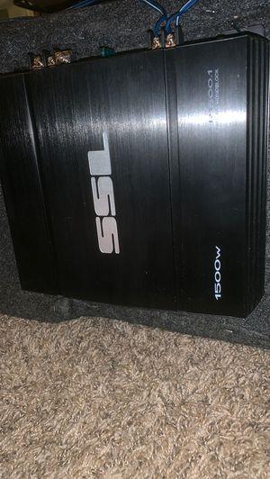 SSL 1500 watt Class A/B amplifier for Sale in Columbus, OH