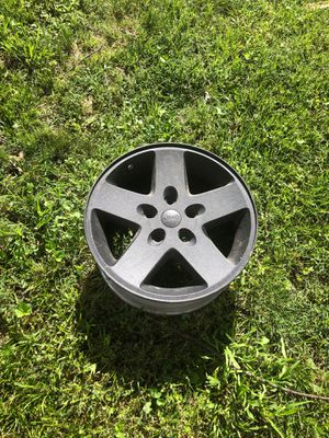 5 Black Jeep Wrangler Wheels for Sale in St. Louis, MO