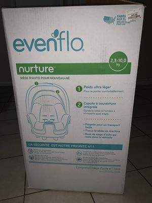Even glo nature car seat for Sale in Silver Spring, MD