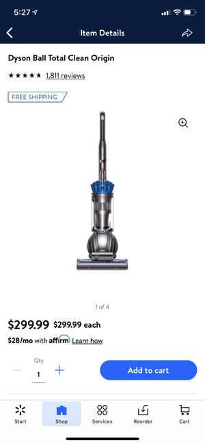 Dyson Ball Total Clean Vacuum for Sale in Suffolk, VA