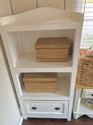 White-washed hutch/ shelving/ storage unit for Sale in Redondo Beach, CA