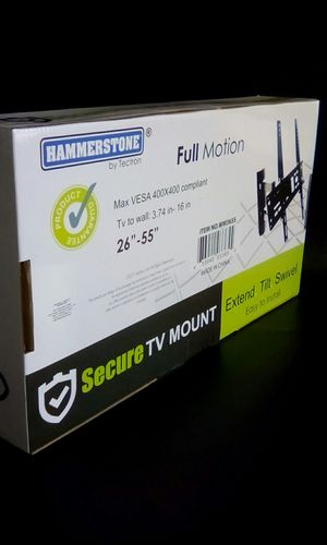 """26"""" TO 55"""" Universal Full Motion Tilt TV Wall Mouth Bracket / New for Sale in DEVORE HGHTS, CA"""