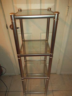Glass 4 shelves Unit for Sale in Mesa, AZ