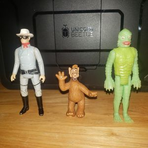 Offer up sucks. Too bad let go is gone. 1980s Toy Lot Glow in the dark Creature from the Black Lagoon, The Lone Ranger, Alf for Sale in Seminole, FL