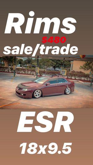 ESR 18 5x114. Rims for Sale in Homestead, FL